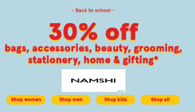 Namshi Clothing New Offer