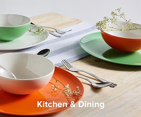 Upto 60% OFF + Extra 10% OFF On Kitchen & Dining Items