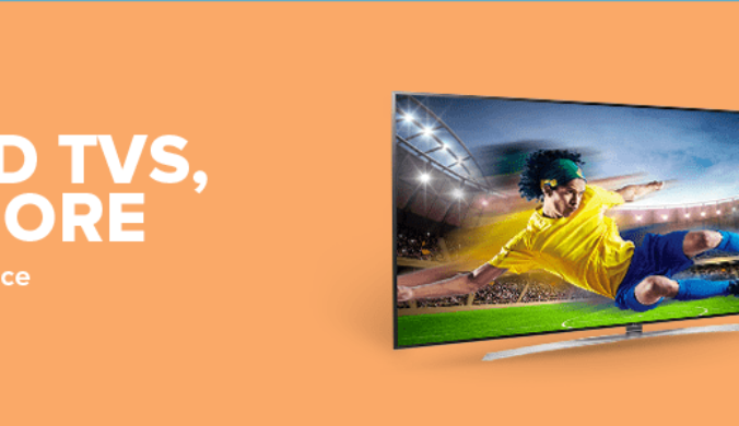 TVs & Appliances Up To 50% Off