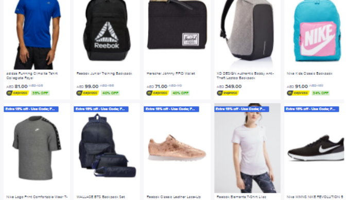 Noon Hot Fashion Deals
