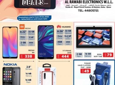 Al Rawabi Qatar smart deals till 15 April