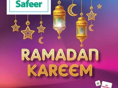 Ramadan discounts from Safeer UAE to 28 April