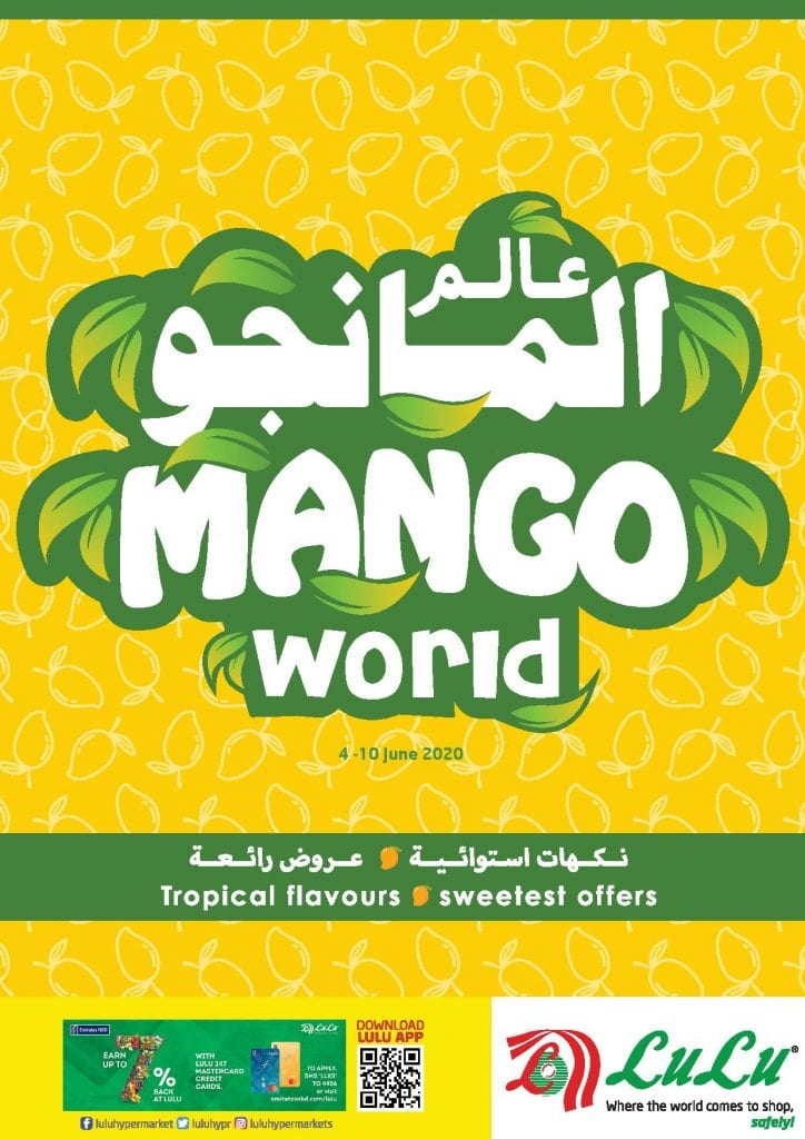 Mango world at Lulu UAE till 10 June